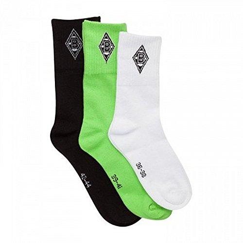 Socken Set Borussia Mönchengladbach socks / chaussettes / calcetines BMG Gr. 36 - 38