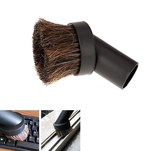 TAOtTAO Tastatur-Rosshaar-Borsten-32mm Bürsten-Kopf-Vakuumstaub-Bürsten-Reiniger-Bürste