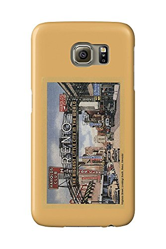 Reno, Nevada - South View of Virginia Street, Famous Reno Sign (Galaxy S6 Cell Phone Case, Slim Barely There)