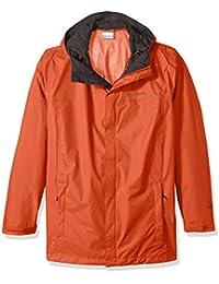 Columbia Men Big and Watertight Ii Packable Rain Jacket, Hot Pepper, 2X Tall