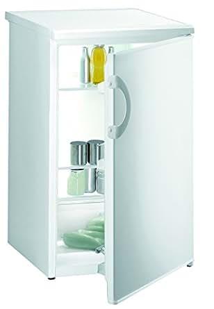 Gorenje R3091AW Kühlschrank / A+ / 122 kWh/Jahr / 134 L Kühlteil / 3 Glasabstellflächen, davon 2 höhenverstellbar / 1 Obst- und Gemüsebehälter / weiß