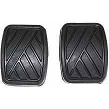 2 almohadillas de goma para pedal de freno y embrague