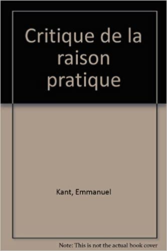 critique de la raison pratique