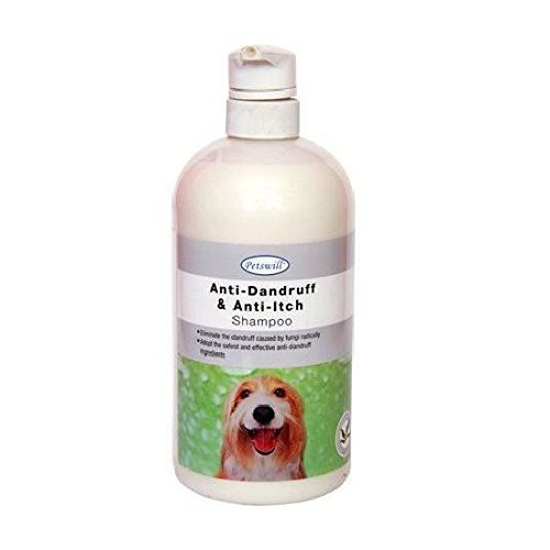 Petswill Anti-Dandruff & Anti Itch Shampoo for Dog & Cat (1 LTR) with Key Chain