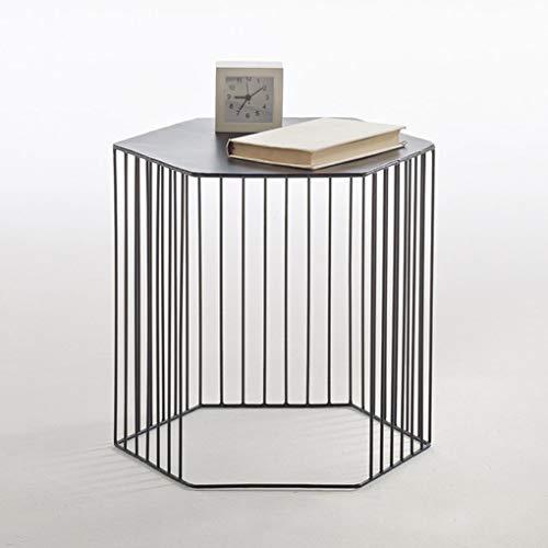 aoeiuv Eisen Tee Tisch Sofa Nordic Wohnzimmer Beistelltisch Kleines Kleid Ist Eine Ecke Gartentisch Blumenständer,b,42 * 36 * 40cm -