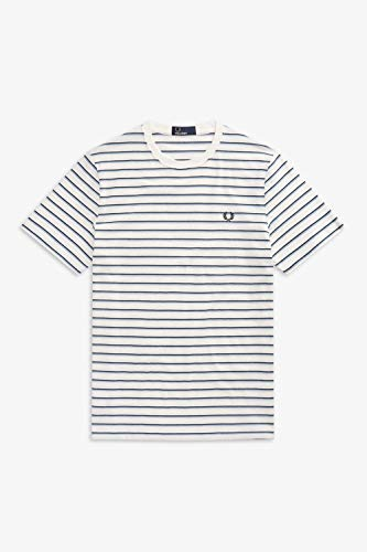 Fred Perry T-Shirt Snow White M5573 129 - L