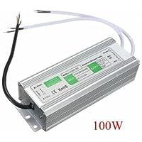 100W impermeable IP67LED transformador de SPG.Fuente de alimentación de conductores AC110V de 260V para DC12V