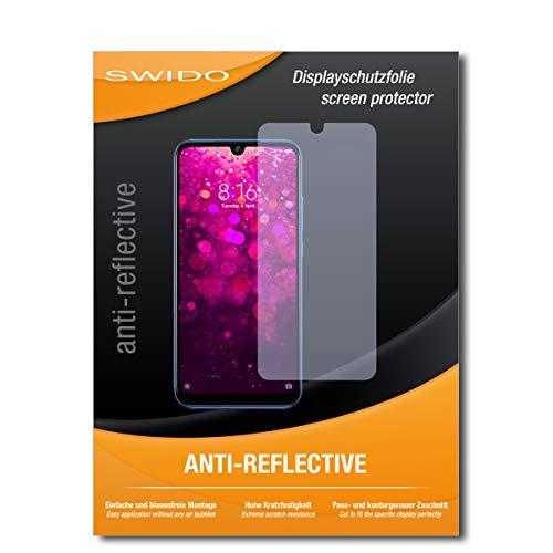 SWIDO Schutzfolie für Xiaomi Redmi Y3 [2 Stück] Anti-Reflex MATT Entspiegelnd, Hoher Härtegrad, Schutz vor Kratzer/Folie, Displayschutz, Displayschutzfolie, Panzerglas-Folie