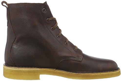 Clarks Originals Desert Mali, Bottes Desert courtes, non doublées homme Marron (Rust Leather)