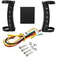 Homyl Universal Auto Lenkradfernbedienung Controller-Schlüssel Mit Empfängerbox Kabel