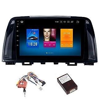 Dasaita-9-Android-80-Autoradio-Touchscreen-1-Din-mit-4G-RAM-32G-ROM-fr-Mazda-6-Atenza-2013-2014-2015-Autoradio-mit-Navi-Untersttzung-GPS-USB-WiFi-Carplay-Lenkrad-Controller-Rckfahrkamera