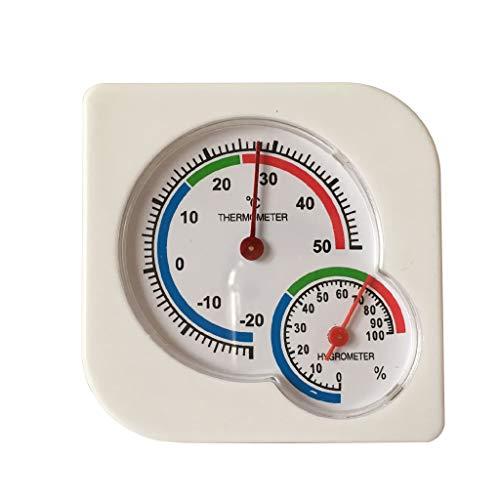 Higrómetro de temperatura doméstica - 20 - 50 °C - Invernadero de medición industrial para bebés...