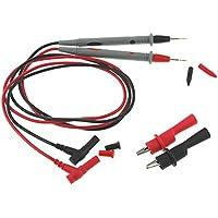 Sonda de Cable de Prueba, Domybest Puntas de Prueba de Sonda Universal 20A para Multímetro con Alicates de Cocodrilo
