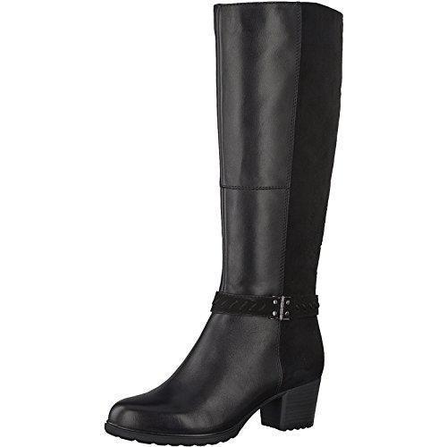 29 noir Tamaris longues dames schwarz bottes 1 001 25507 w4RqT