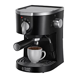 Russell Hobbs 15-Bar Pump Espresso Machine 19720 – Black