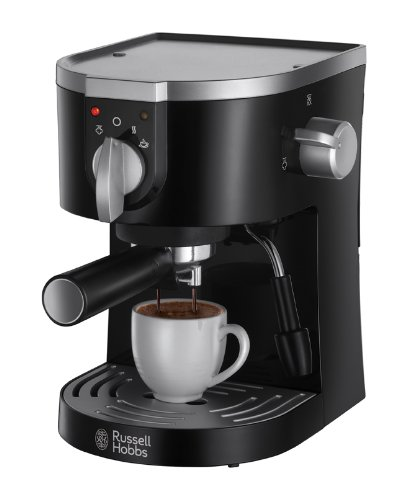 , Russell Hobbs 15-Bar Pump Espresso Machine 19720 – Black, Best Coffee Maker, Best Coffee Maker