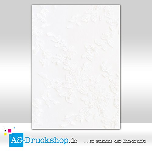 Designpapier 'Textur / Struktur - Brautkleid' - DIN A4 / 50 Blatt / 150g