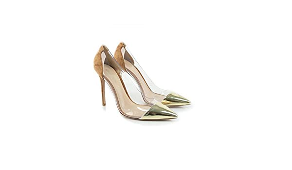 Gianvito Rossi Escarpins pour Femme Or Or No Or Or, 37.5