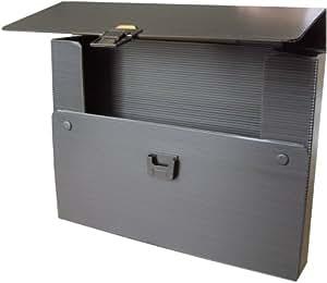 Rumold 370404 Serviette porte-documents A1 en polypropylène (Noir) (Import Allemagne)