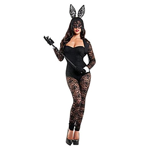 LIUZHI Hasenmädchen Karriere Kostüme Cosplay Kostüme Party Kostüme Frau Halloween Karneval Fest/Feiertage Halloween Kostüme einfarbig , female , (Strampelanzug Kostüm Bunny)