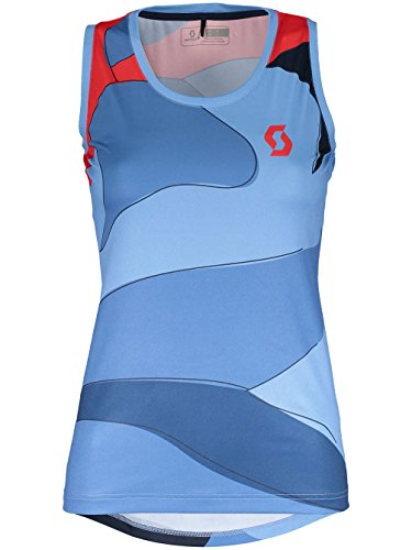 Scott Trail 40 Damen Fahrrad Body Shirt blau/rot 2018: Größe: XS (34/36)