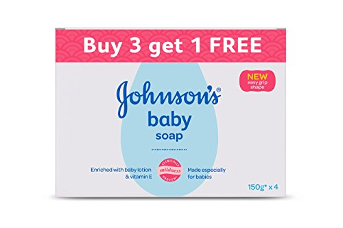 Johnson's Baby Soap, 150g (Buy 3 Get 1 Free)