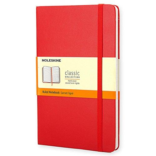 Red ruled pocket (Notebook Rigida)