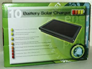 Proteam SL1098 - 10 AA or 10 AAA Solar Battery Charger