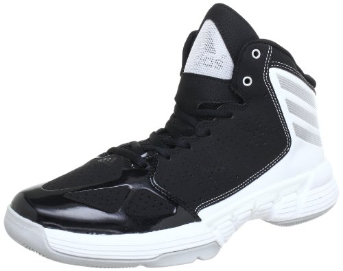 adidas Mad Handle G65838 Herren Baseballschuhe Schwarz (Black 1 / Metallic Silver / Running White Ftw)