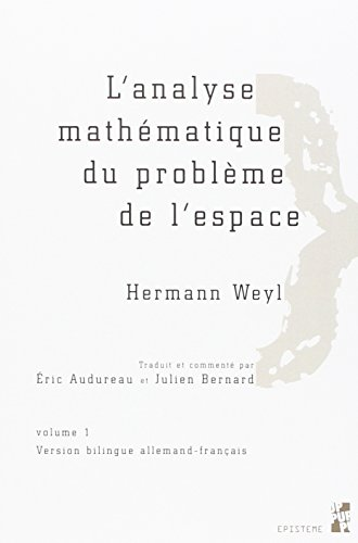 L'analyse mathématique du problème de l'espace