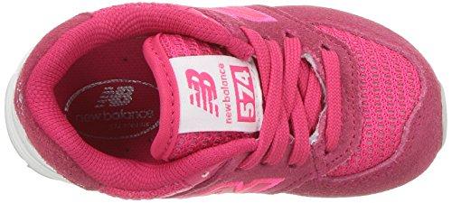 Visibilità 574 Bianco Bassi New Cestini Balance Mixte Rosa Ad c0 Enfant Alta I4xCT1Twq