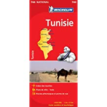 Carte NATIONAL Tunisie