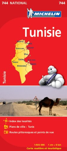 Descargar Libro Carte NATIONAL Tunisie de Collectif Michelin