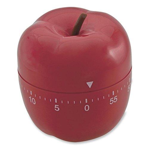 Baumgartens Apple Timer 1/Pkg-Red -