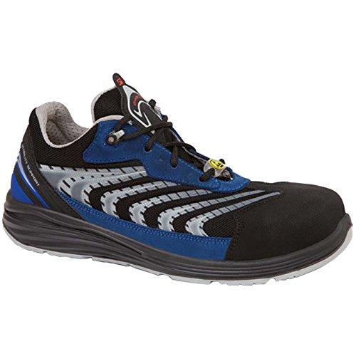 Giasco UP071C44 Capricorn Chaussures de sécurité bas S1P Taille 44 Bleu/Noir