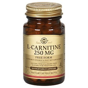 Solgar Acetyl-L-Carnitine 250 mg Vegetable Capsules - Pack of 30