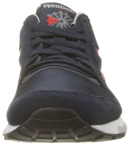 Reebok Gl 6000 Athletic, Baskets mode homme Bleu (Navy/Red/Grey/White/Silver)