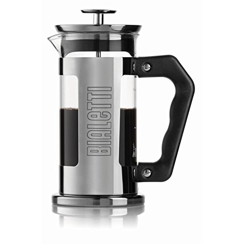 Bialetti French Press Bold - Cafetera (Independiente, Negro, Acero inoxidable, Francés de Prensa, De café molido, Café, 0,35L)