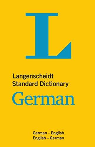 Langenscheidt Standard Dictionary German: Deutsch-Englisch/Englisch-Deutsch (Langenscheidt Standard Dictionaries)