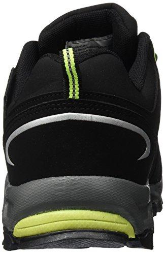 Conway - 607399, Scarpe da ginnastica Unisex – Adulto Multicolore (Mehrfarbig (schwarz/grün))