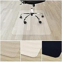 Tapis Protège-sol Transparent casa pura®   Tapis Chaise de Bureau Vinyle 100% Recyclé   Protection Sol Dur, Parquet, Lino   4 Tailles   90x120cm