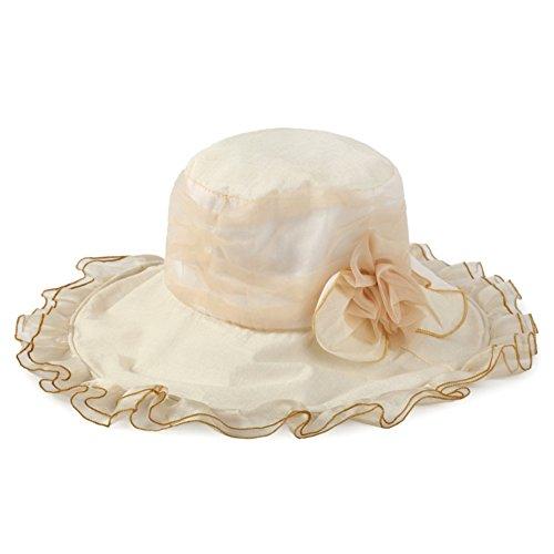 chapeau de plage femme/Bord de mer automne break Sun Hat/Chapeau de soleil pliable/Chapeaux de soleil UV D
