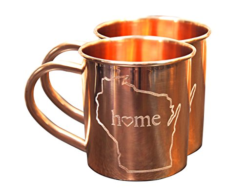 home-state-copper-mugs-for-moscow-mules-wisconsin-mug-100-pure-copper-mug-best-for-moscow-mules-love