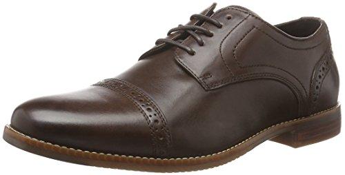 rockport-herren-stylepurpose-cap-toe-derby-schnurhalbschuhe-braun-dk-brown-42-eu