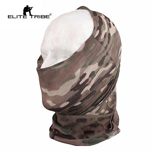 Elite Softair Combat Schal Maske Fast Dry Multifunktionale Kapuze ()