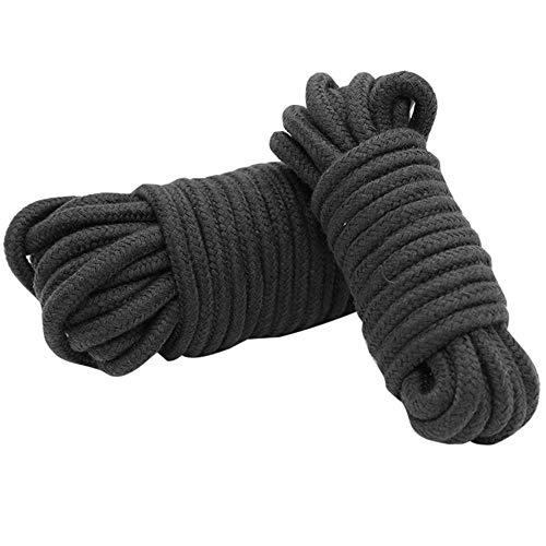 10M Thicken Cotton Bondage Cuerda Cuerda Suave al Tacto Tie Up Fun...
