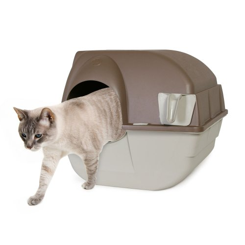 *Omega Paw Roll'n Clean Selbstreinigende Katzentoilette, GrößeM*