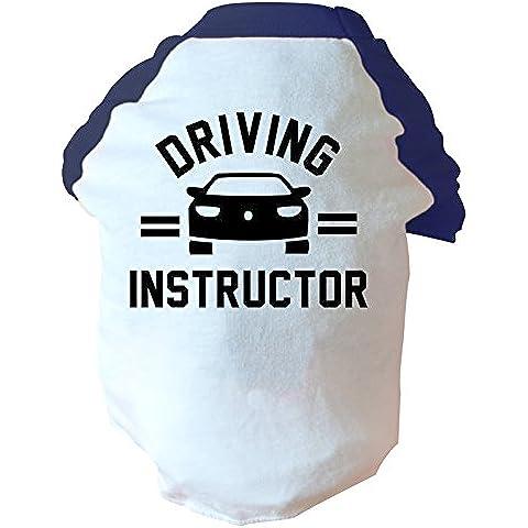 Driving instructor due tonalità, colore: blu o Rosa, motivo: cane