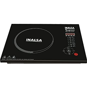 Inalsa Supreme 2000-Watt Touch Control Induction Cooker (Black)