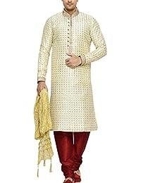 Indian Poshakh Men's Silk Sherwani